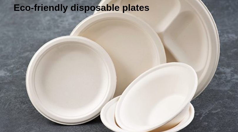 Eco-friendly disposable plates